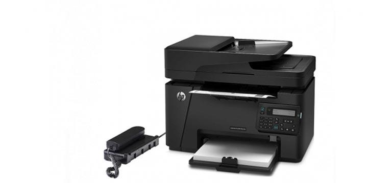 پرینتر چهار کاره لیزری مشکی HP Pro MFP M225dn